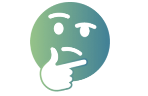 Confused face icon